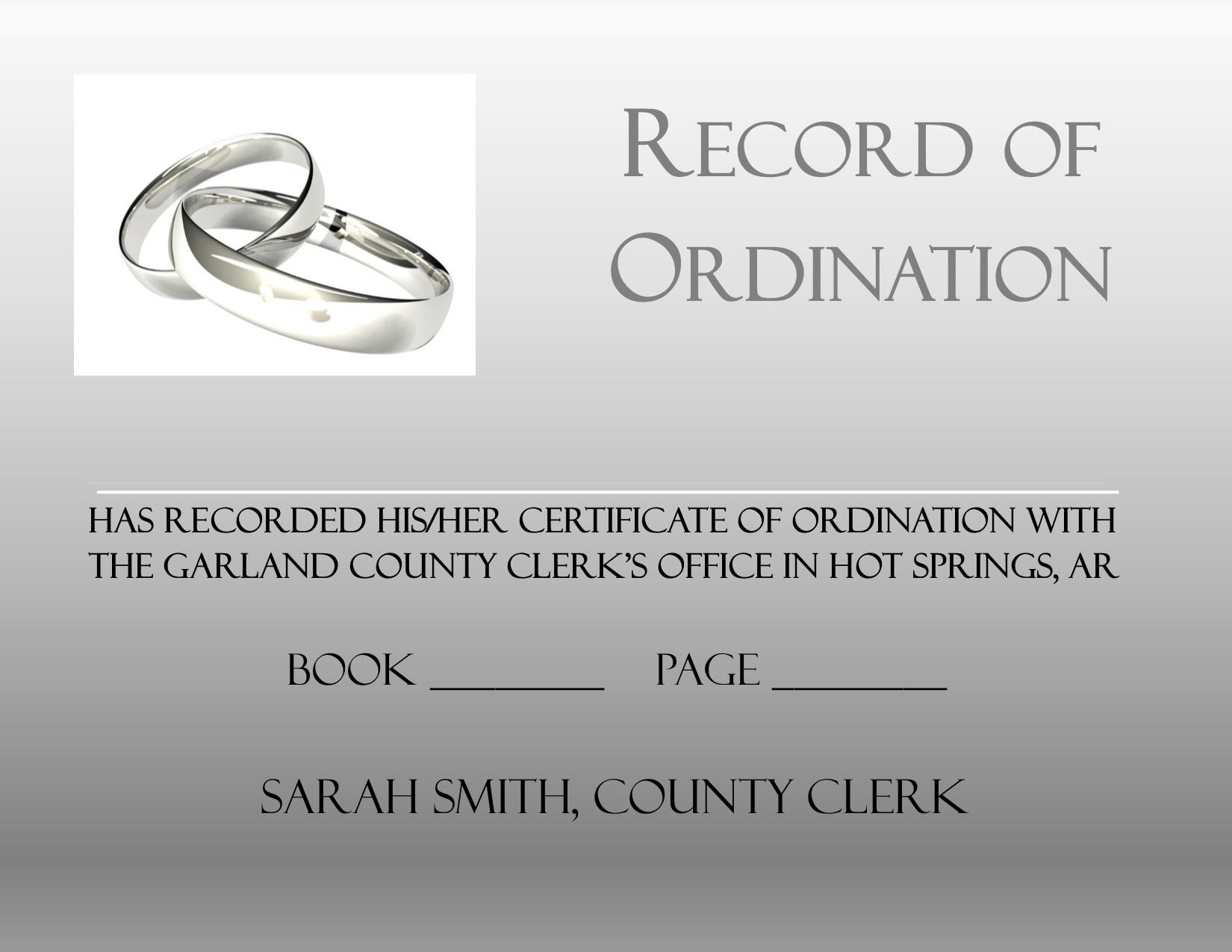 Record of Ordination2